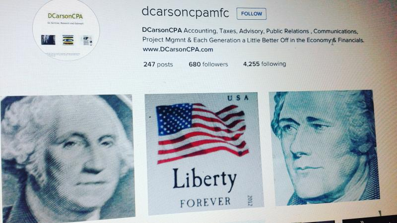 DCarsonCPA Creative Artists and Cross Sector Lines support Svcs, Research + more