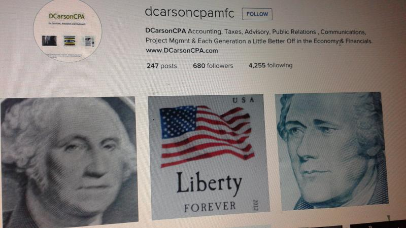 DCarsonCPA Founders and Liberty - Government Audit project support