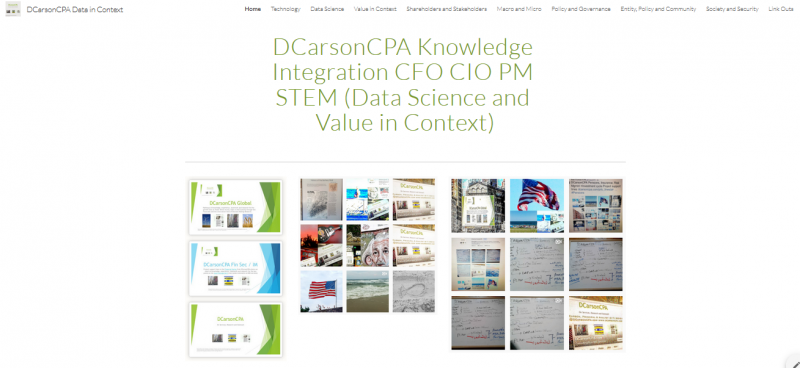 DCarsonCPA Knowledge Strategy Data Science and Value in Context