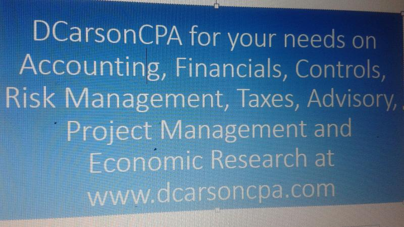 DCarsonCPA on Services
